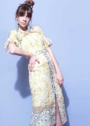 Шикарное эксклюзивное платье бюстье h&m
