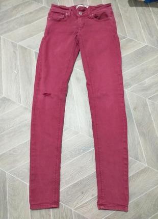Стрейчевые джинсы.(1605)