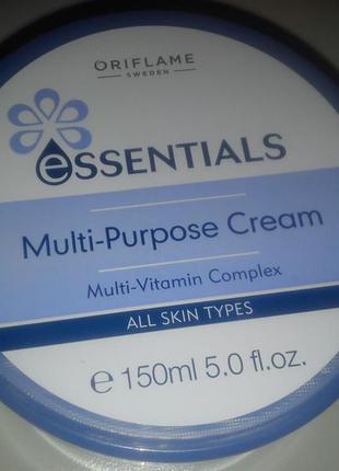 Essentials крем для лица и тела «витаминный уход» 150 млскидка консультанта