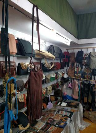 Индийская сумка замшевая2
