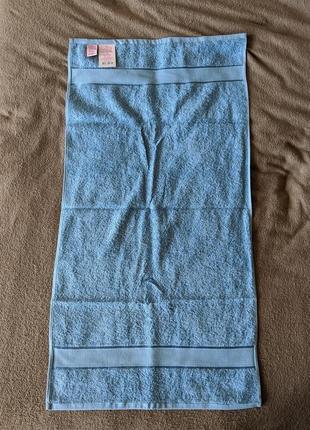 """Нежное голубое полотенце """"магія комфорту"""""""
