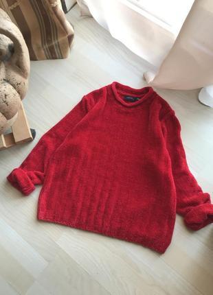 Мягкий плюшевый свитер, m l