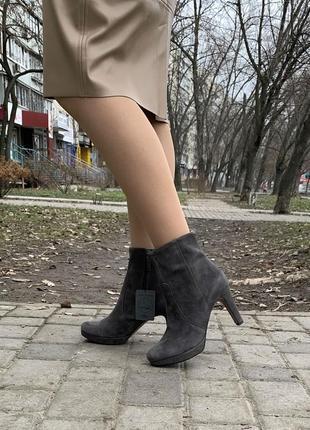 Ботинки s.oliver оригинал натуральная замша