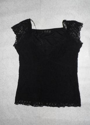 Кружевная блуза размер 16