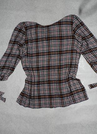 Блузка прямого кроя , размер 14
