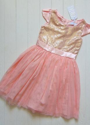 Cool club. размер 8 лет. новое шикарное платье для девочки