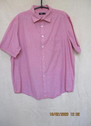 Красивая рубашка в мелкую клеточку/короткий рукав