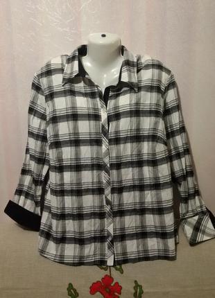 Рубашка котоновая (пог 68-70 см)