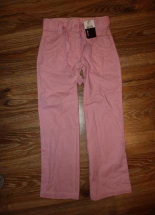 Новые льняные брюки george на девочку 7-8 лет рост 122-128 см