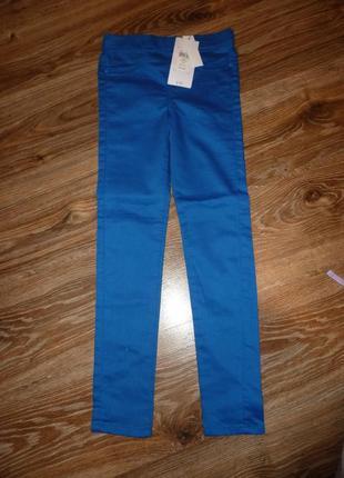 Новые яркие стрейчевые брюки на 8-9 лет, джинсы tammy jeans wear