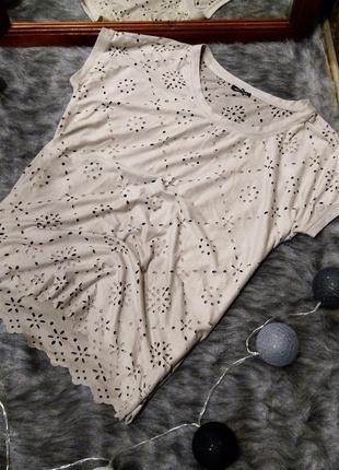 Топ блуза кофточка с перфорацией motivi