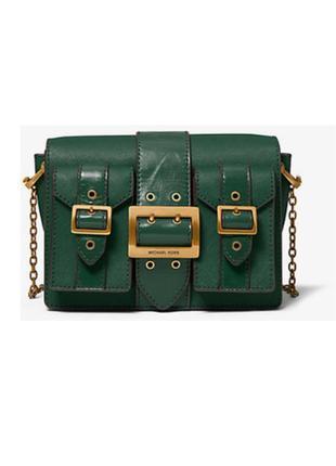 Зеленая сумка крос боди #30f9aoym8l