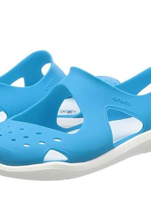 Сандали аквашузы crocs women's swiftwater wave sanda