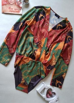 Шикарный боди блуза zara
