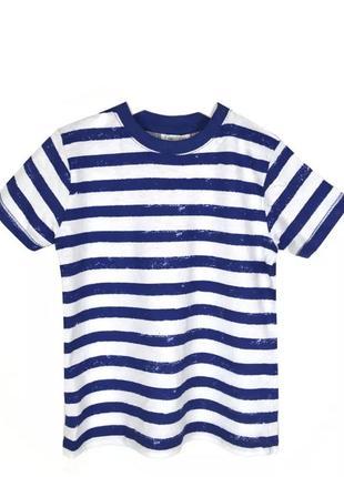 Ovs футболка полоска для мальчиков 3-6м.62см