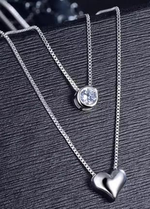 Очень красивая и нежная цепочка в наличии ,серебро 925