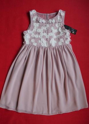 Платье m&s для девочки 7-8 лет