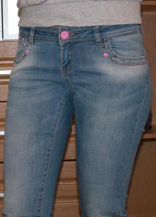 Джинсы madoc женские классические прямые. размер 27.