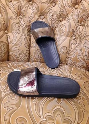 Шлепки crocs w11