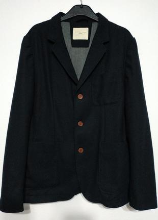 M 48 сост нов selected homme пиджак блейзер жакет синий мужской брендовый фирменный
