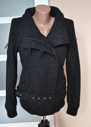 Куртка косуха пилот khujo tale-wo *шерстяная зимняя / зимова косуха