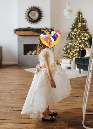 Платье на выпускной праздничное нарядное бальное пышное
