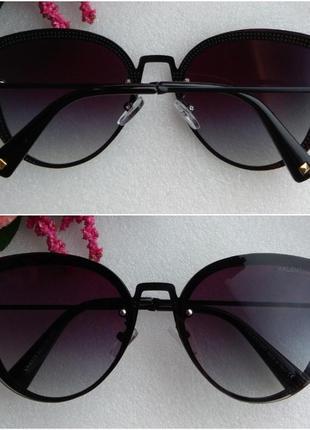 Новые красивые очки бабочки, черные