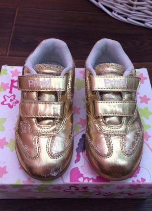 Кожаные кроссовки primigi 27 размер