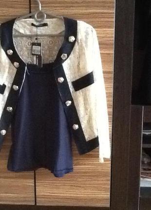 Легкий ажурный пиджак