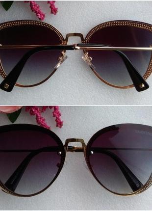 Новые красивые очки бабочки, фиолетовые