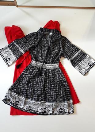Платье в стиле бохо,рукав клёш,boohoo