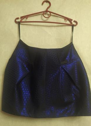 Стильная юбка с 3d голограммой от river island