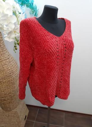 Велюровый свитер amisu
