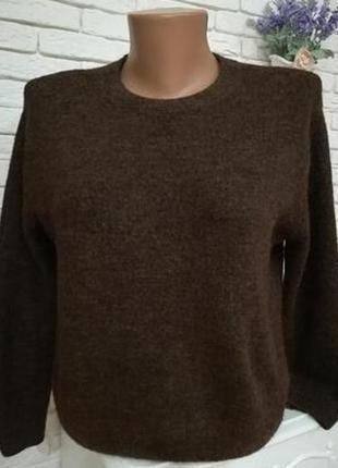 Комфортный мягчайший свитер оверсайз,р.s-m,пог 50