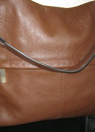 Marks & spencer autograph сумка кожаная большая не тяжелая состояние новой натур. кожа