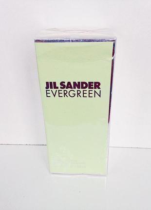 Гель для душа jil sander evergreen shower gel 150 мл