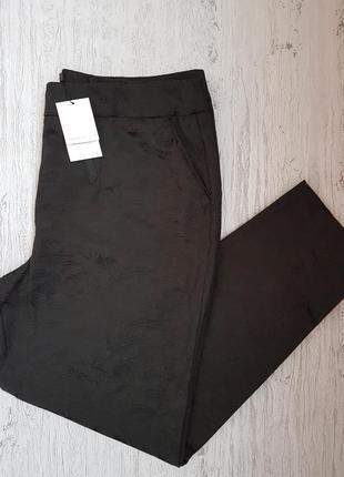 Классические брюки с декоративной отделкой, новые, с биркой 16 размер