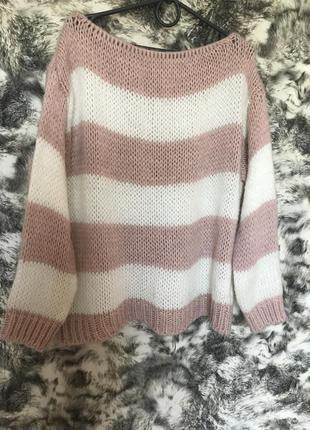 Тёплый итальянский свитер