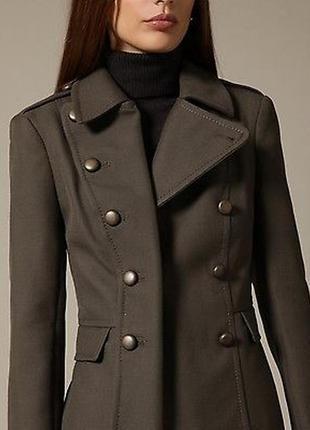 French connection новое короткое пальто#жакет#блейзер полу шерсть, милитари стиль.