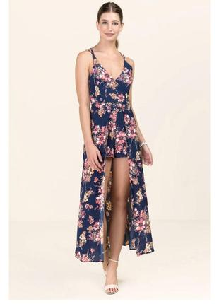 Платье ромпер