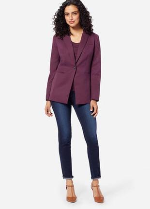 Alba moda новый брендовый#шерстяной#бордовый#марсала жакет#пиджак#блейзер оверсайз.