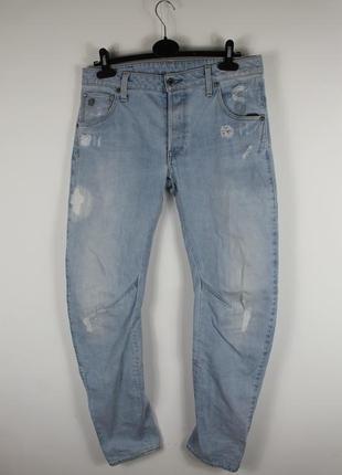 Оригинальные стильные джинсы g-star raw arc 3d slim jeans