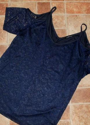 Кружевная блуза р. 22