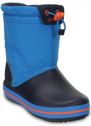 Сапоги crocs kids' crocband™ lodgepoint boot