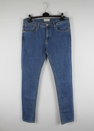 Стильные качественные джинсы jack&jones liam original skinny fit jeans
