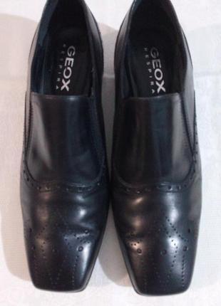 Чудові шкіряні зручні туфлі на кожен день
