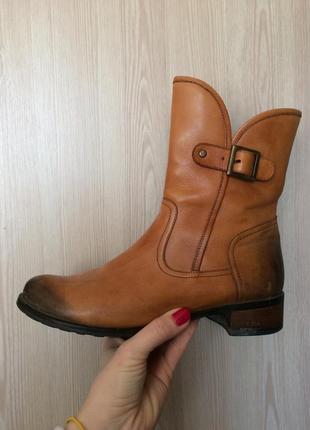 Демисезонные ботинки, козачки, кожаные ботинки