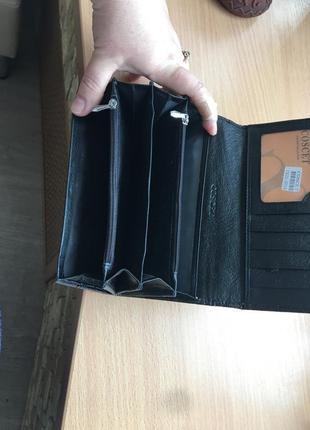 Coscey,кошелёк.кожаный.3 фото