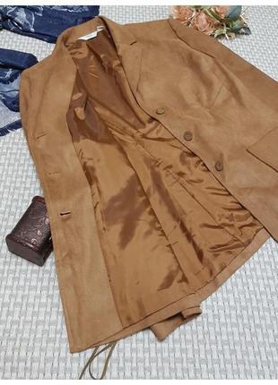 Жакет под замш next/пиджак/шнуровка на рукавах