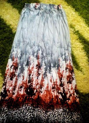 Обалденная юбка в пол!